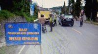 Tekan Angka Kecelakaan, Polres Majene Gelar Operasi Patuh 2021
