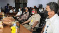 Bupati Basli Ali Bersama Kepala BPN Selayar Hadiri Penyerahan Sertifikat Redistribusi Tanah Oleh Presiden Jokowi