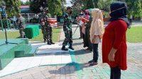 Pembagian Sembako Bhakti Sosial Kodim 1426/Takalar, Perkuat Kemanunggalan TNI-Rakyat