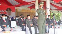 Dandim 1420 Sidrap Irup Peringatan Hari Kesaktian Pancasila Tingkat Kabupaten Sidrap, Upacara Berlangsung Khidmat