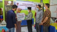 Wabup Saiful Arif Serahkan Santunan Manfaat Jamsos BPJS Ketenagakerjaan