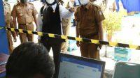 Tinjau Simulasi PTM di SMPN 15 Makassar, Fatma : Kita Akan Evaluasi Day to Day