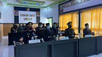 Secara Virtual, AKBP Ponco Indriyo Ikuti Upacara HUT TNI ke-76 di Makodim 1420 Sidrap