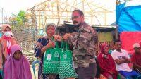 Bakal Calon Bupati Takalar H. Haluddin Sore Peduli Korban Kebakaran di Galesong Baru