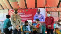 Kapolres Bantaeng: Capai Herb Community , Polres Bantaeng lakukan Vaksin Mobile