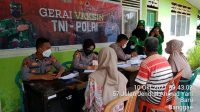 Jemput Bola, Gerai Vaksin Polres Majene Sasar Pasar Sentral dan Kelurahan Baru