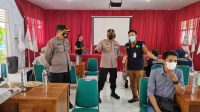 Polres Gowa Sukseskan Pelaksanaan Vaksinasi Massal Pelajar dan Masyarakat