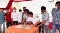 Wabup Sidrap Mahmud Yusuf Resmikan Kampung Peduli Gizi PT Cargill Indonesia