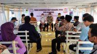 Dibuka di Atas Kapal, FKUB Makassar Rakor di Pulau Barrang Lompo