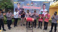 Polres Gowa Bersama Warga Desa Bontoala Deklarasi Anti Narkoba