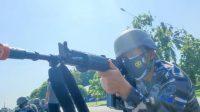 Pertahankan Pangkalan, Personel Lantamal VI Lumpuhkan Gempuran Serangan Pesawat Udara Musuh