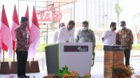 Presiden Jokowi Resmikan Pabrik Biodiesel PT. Jhonlin Group di Kalsel