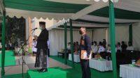 Plt. Gubernur Bertindak Sebagai Pembina Upacara Hari Santri