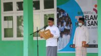 Bupati Luwu Timur Pimpin Upacara Peringatan Hari Santri Tahun 2021
