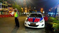 Cegah Laka Lantas, Satlantas Polres Pelabuhan Makassar Rutin Pengaturan Malam Hari
