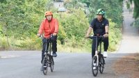 Rabu Sehat, Bupati Luwu Timur Keliling Bersepeda Bersama Camat Malili
