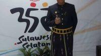 Bupati Selayar Hadiri Peringatan Hari Jadi Sulsel ke-352