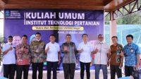 Bupati Takalar Bersama Bupati Wajo Beri Kuliah Umum Institut Teknologi Pertanian