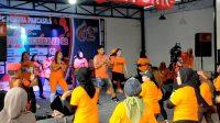 Pemuda Pancasila Parepare Gandeng Zin Baim Mo Ajak Masyarakat Hidup Sehat dengan Zumba Party