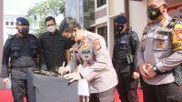 Kapolda Resmikan Markas Penjinak Bom Brimob Sulsel